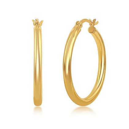 3mm Yellow or White Hoop