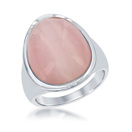 Cat's Eye Ring, Mauve