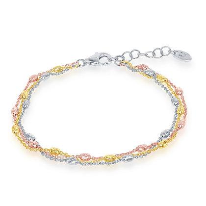 Tri-Color Bracelet Strand