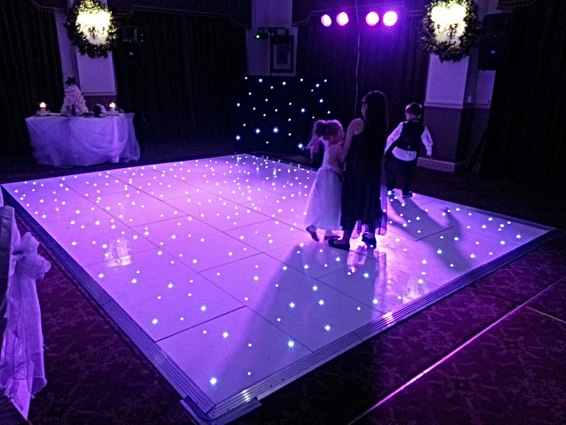 LED Dancefloor Hire Norfolk
