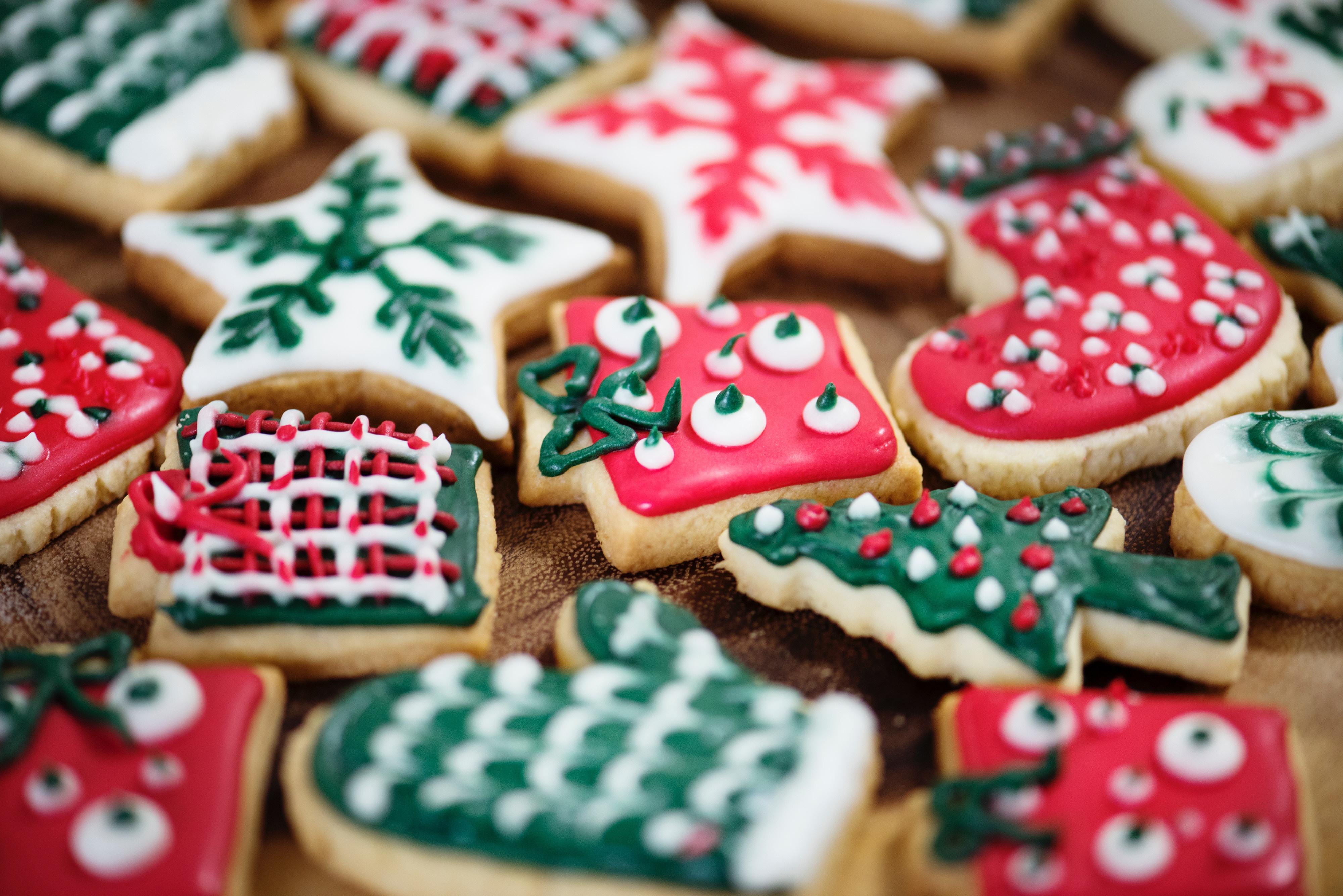Wine and Christmas Cookie Tasting