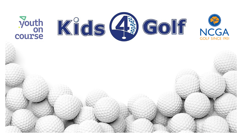 Kids 4 Golf - Golf Balls Virtual Backdro