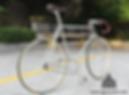 complete steel fixedgear bike