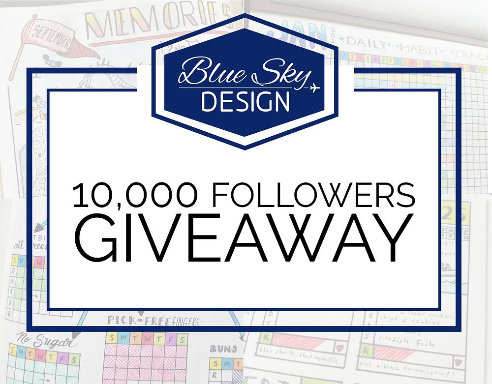 Giveaway 10 000 Instagram Followers