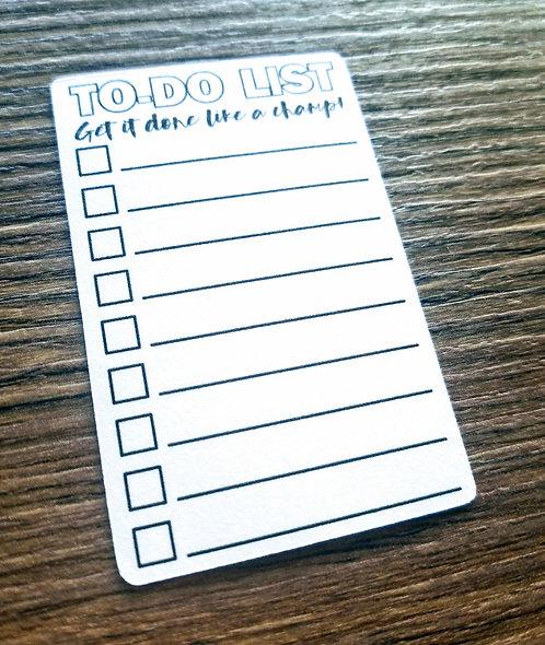 Digital Download - VERTICAL TO-DO LIST 5PK - Bullet Journal - Digital Design