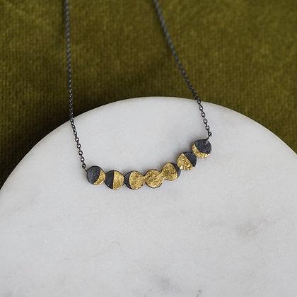 Acanthus Lunar Phase Necklace
