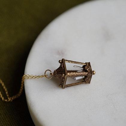 Omnia Lantern Crystal Amulet