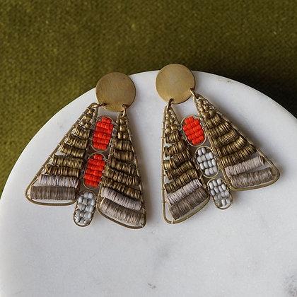 Alchemilla Moth Earrings