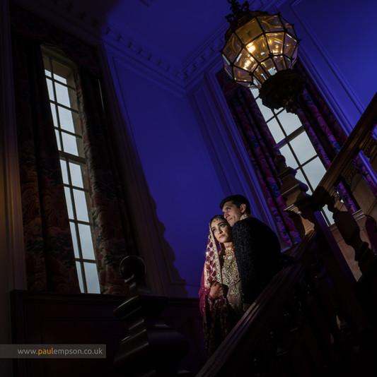 Creative Crathorne Hall Wedding Photograph