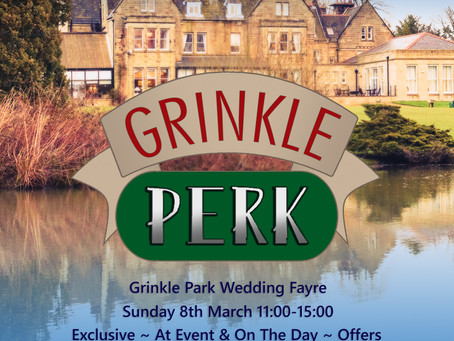 Grinkle Perk Wedding Photography Promotion