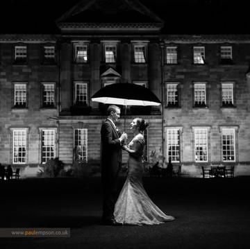 Creative Wedding Photography at Crathorne Hall
