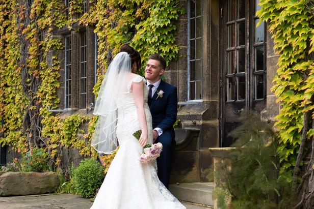 Summer wedding in June at Gisbrough Hall