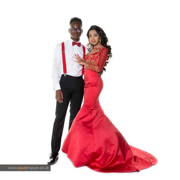 red dress & braces