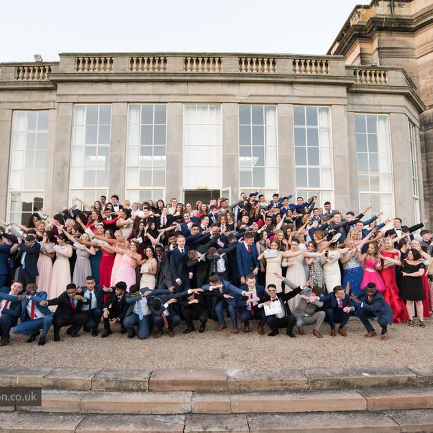 Large Prom Group Photo