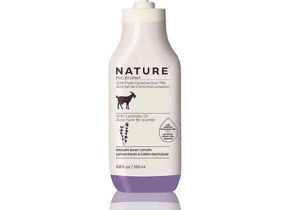 Nature Creamy Body Lotion – Lavender Oil - 11.8 oz