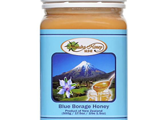 Blue Borage Honey from New Zealand - 17.5 OZ