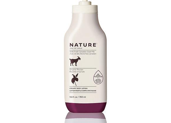 Nature Creamy Body Lotion – Original Recipe - 11.8 oz