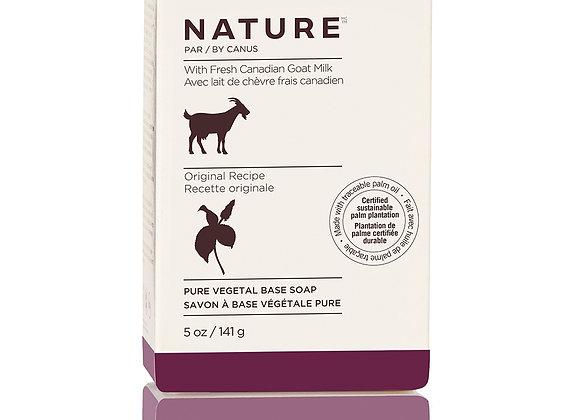 Nature Pure Vegetal Base Soap Bar – Original Recipe - 5oz