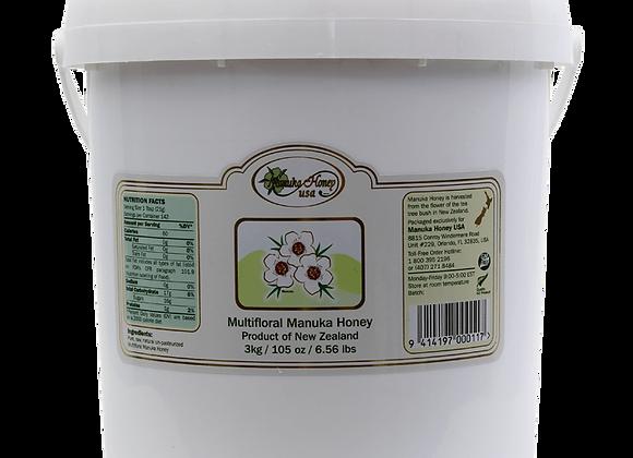 Multifloral (MF) Manuka Honey 105 OZ Bucket