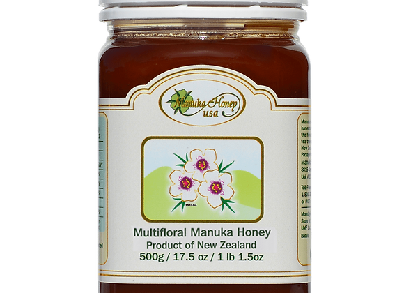 Multifloral Manuka Honey 17.5- 500g