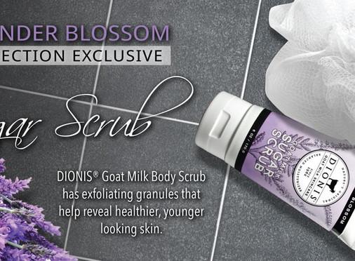 Lavender Blossom Goat Milk Sugar Scrub