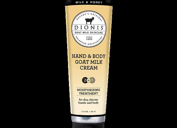 Hand & Body Cream, 3.3 oz. Milk & Honey