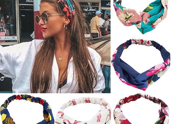 Fashion Women & Girls  Print Headbands