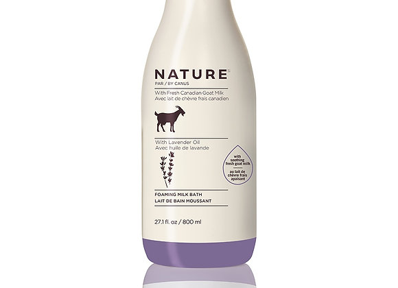 Nature Foaming Milk Bath – Lavender Oil - 27.1 oz