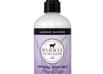 Lavender Blossom Goat Milk Hand Soap, 8.5 oz. bottle with pump