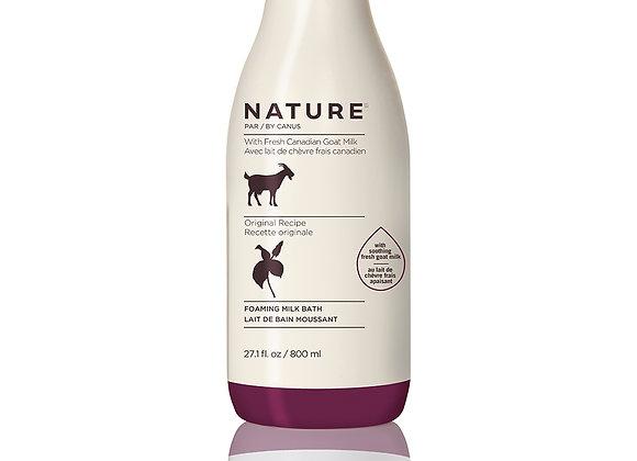 Nature Foaming Milk Bath – Original Recipe 27.1 oz