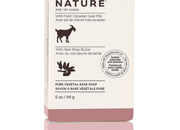 Nature Pure Vegetal Base Soap Bar – Real Shea Butter - 5oz