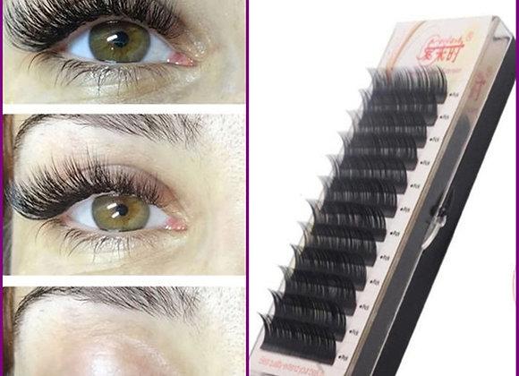High Quality Individual Silk Eyelash Mink Eyelash Extensions