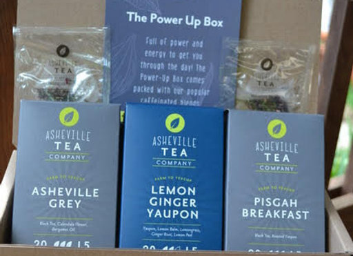 The Power-Up Tea Box
