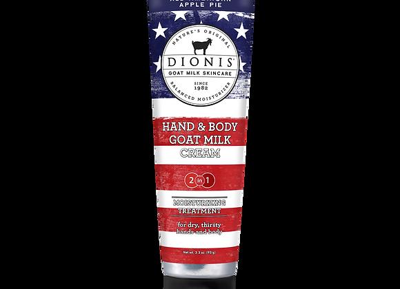 Hand & Body Cream, 3.3 oz. All-American Apple Pie