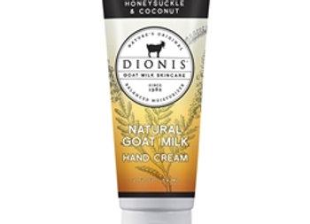 Honeysuckle & Coconut Goat Milk Hand Cream, 2 oz. tube
