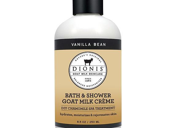 Bath & Shower Crème, 8.5 oz. Vanilla Bean