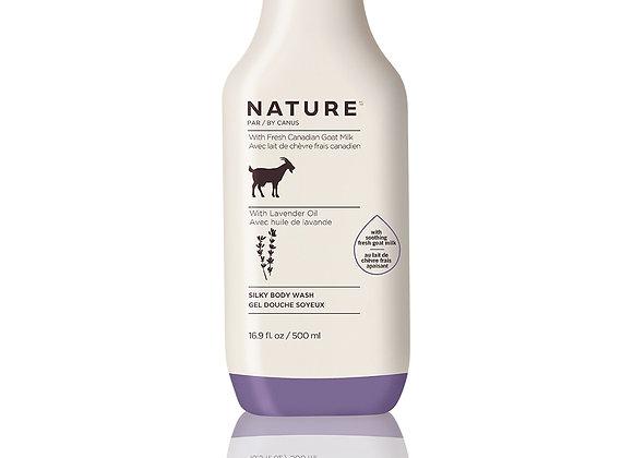 Nature Silky Body Wash – Lavender Oil - 16.9 oz