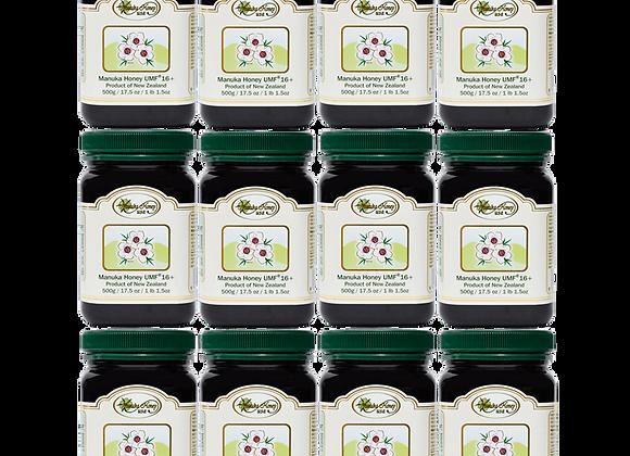 Manuka Honey UMF® 16+ UMF 12 JARS -17.5oz/500g