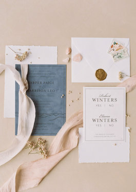 Noteworthy Expressions Invitation Suite