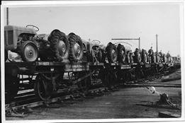 A ship load of tractors