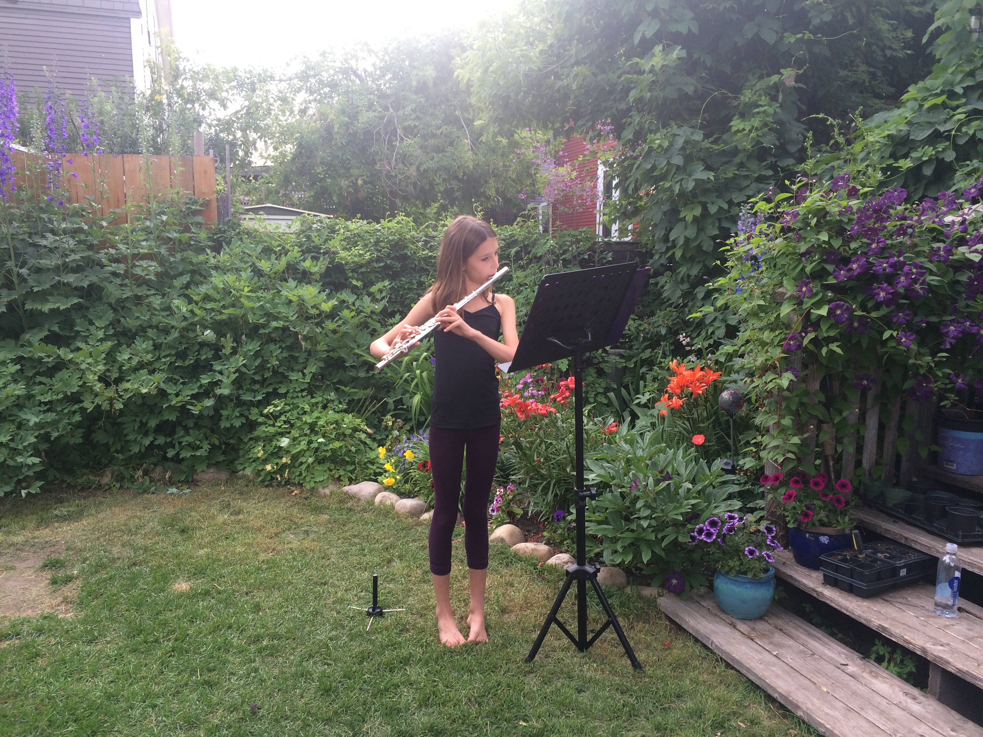 Garden Recital