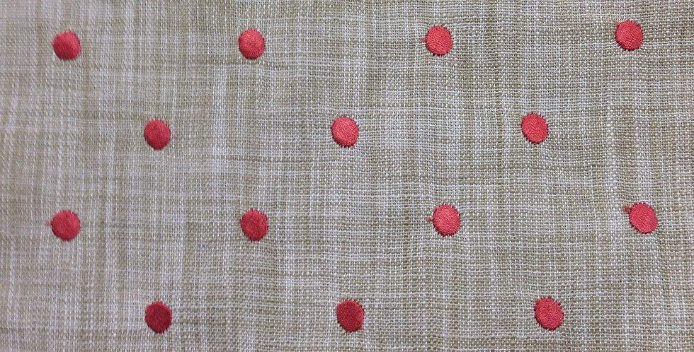 Dottie Embroidered Dot Fabric