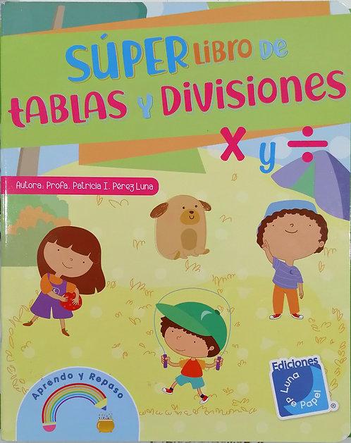 SÚPER LIBRO DE TABLAS Y DIVISIONES