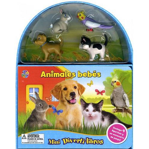 ANIMALES BEBES Mini Divertilibros