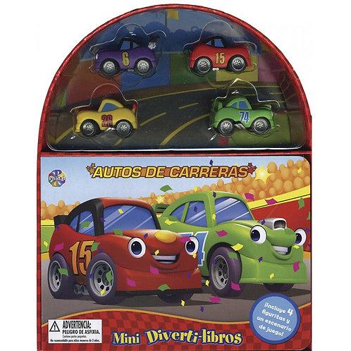 AUTOS DE CARRERAS Mini Divertilibros
