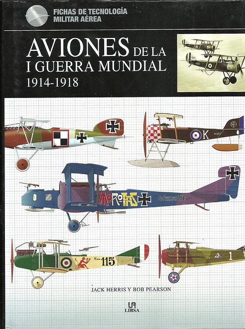 AVIONES DE LA I GUERRA MUNDIAL 1914