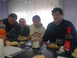 18- Diego y Moccia del Ministerio del trabajo con Cabred y Durigan (nombres en o