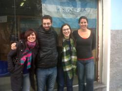 estudiantes visitan el sindicato