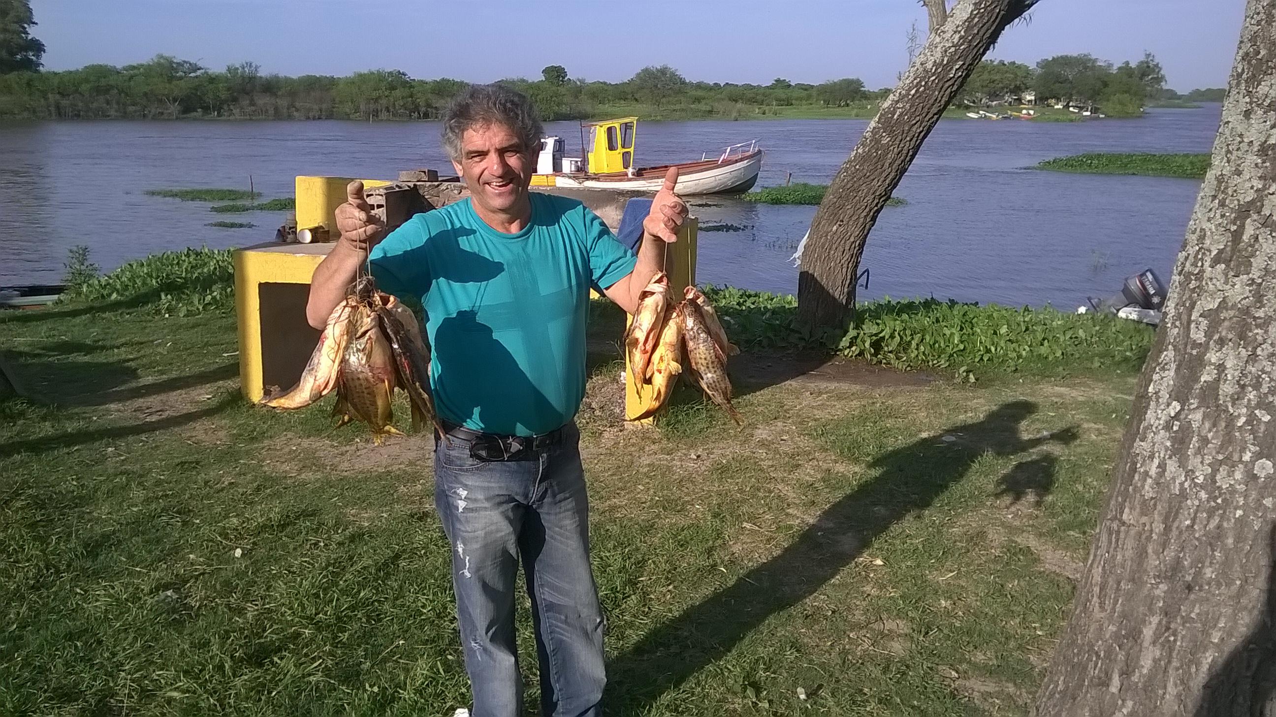 Oscar con pescado ajeno!!!