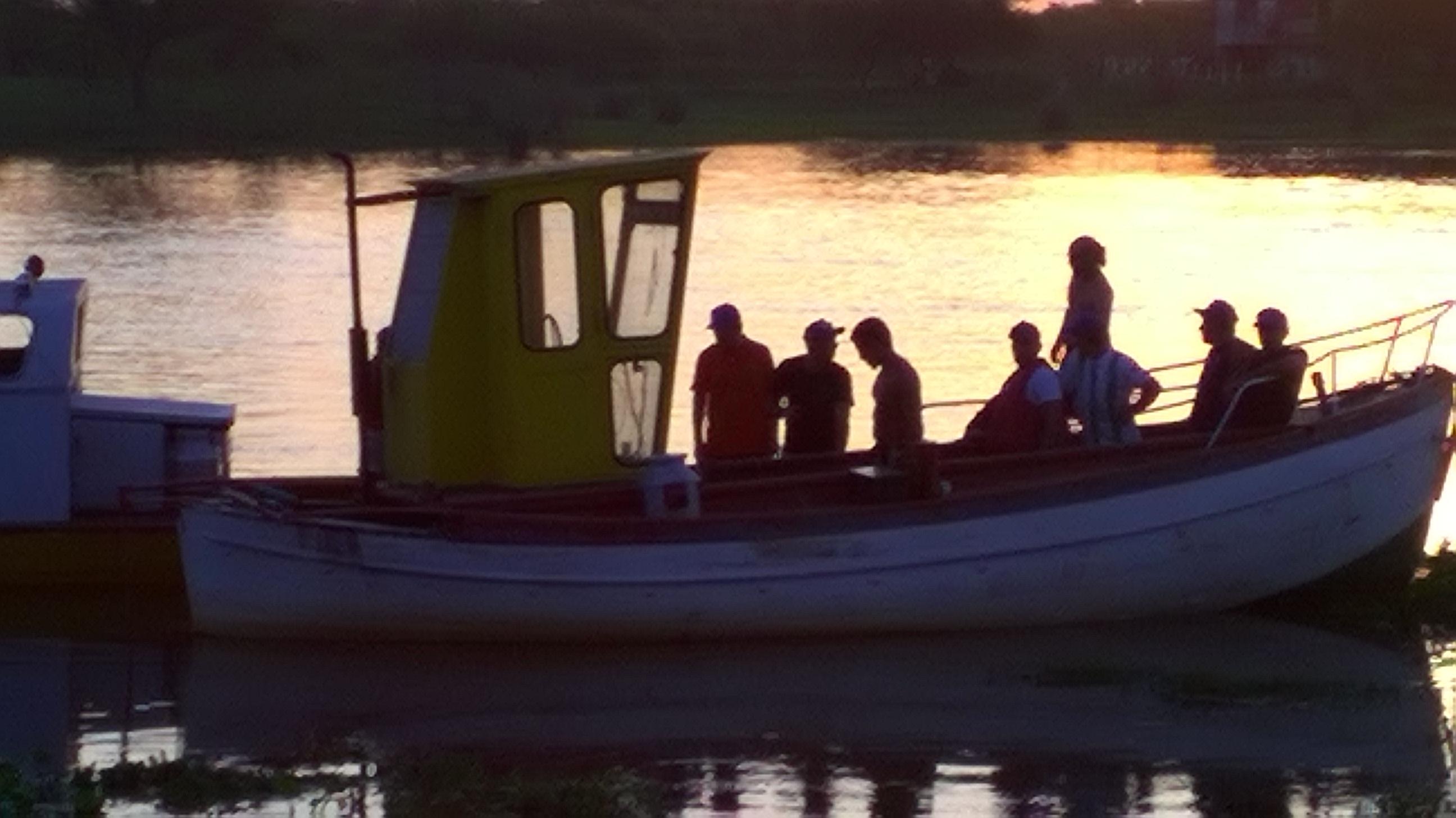 ¡los pescadores del Sindicato Fibro!